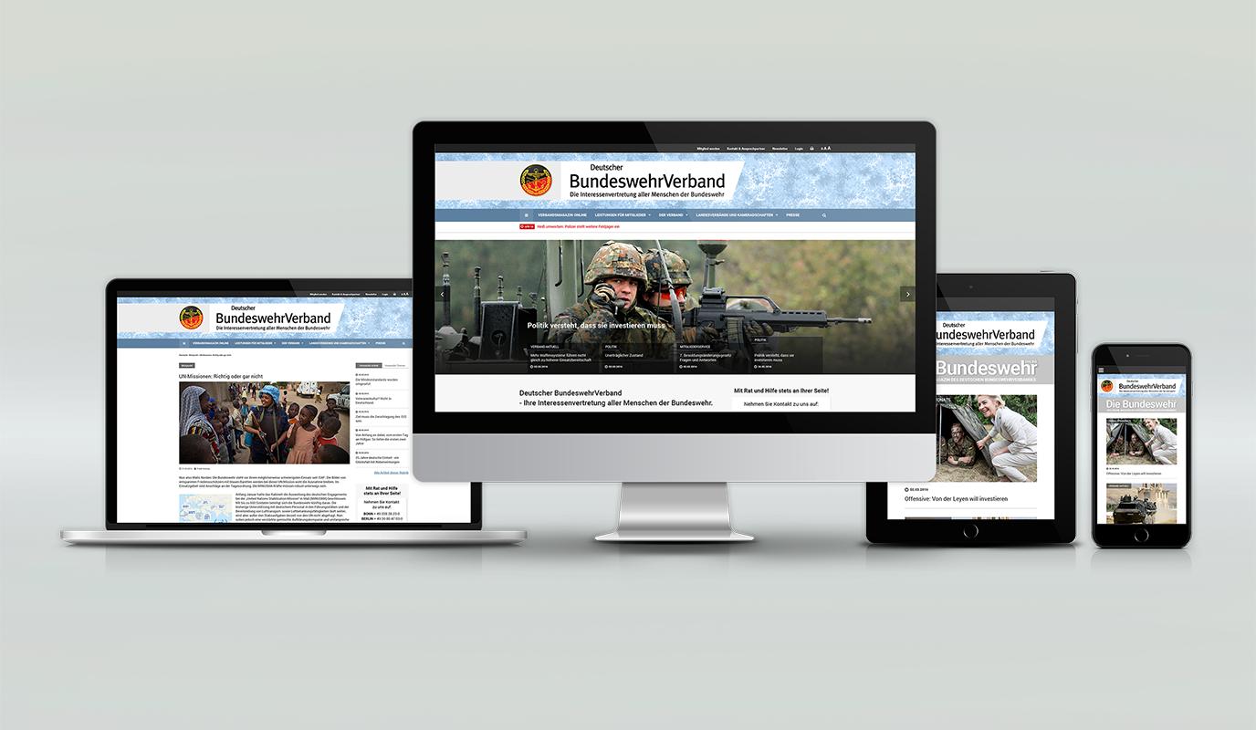 Website für den DBwV