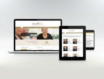 Neues Design für BPM - Website