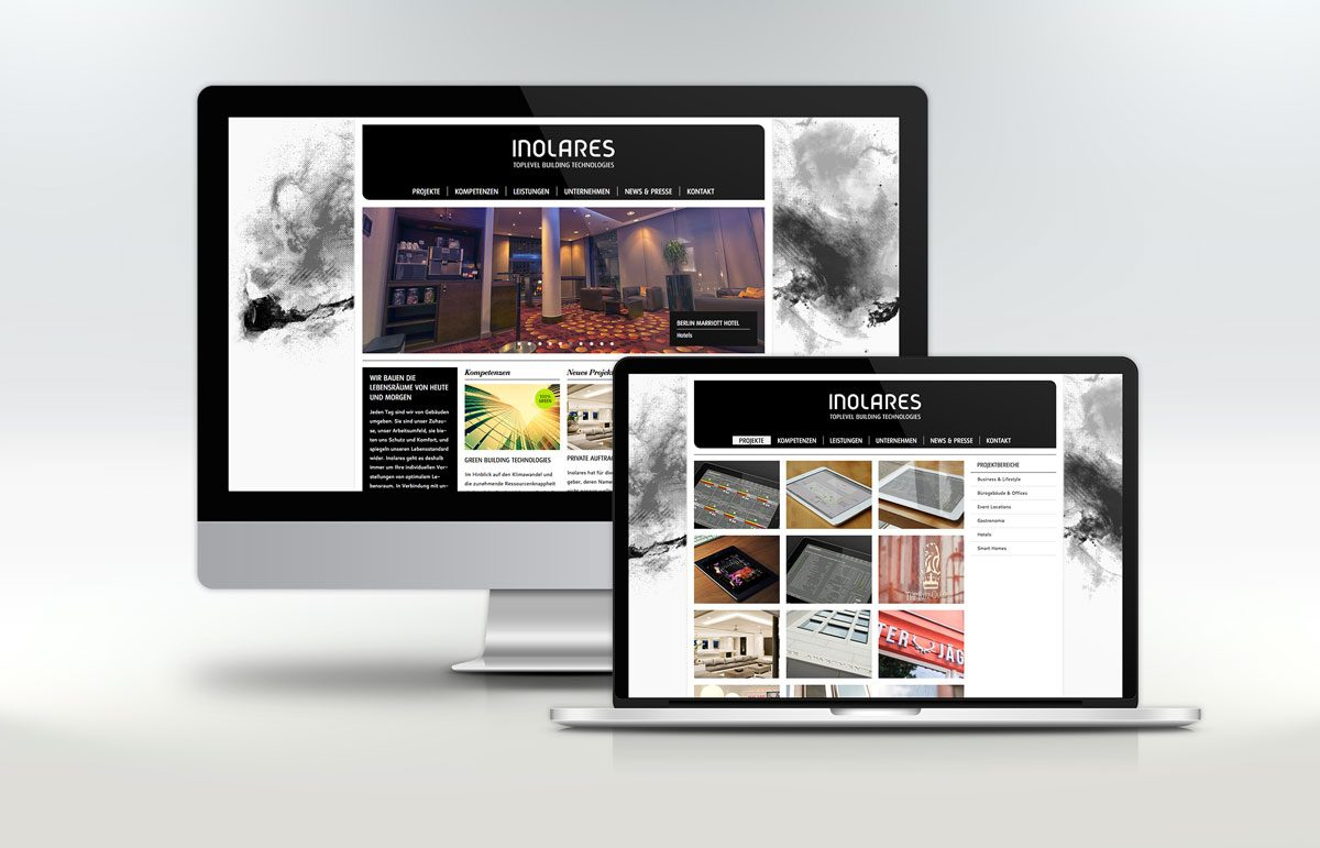 Website-Redesign für die Inolares GmbH & Co. KG