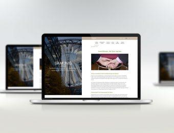 Entwicklung der Website für die Samonig