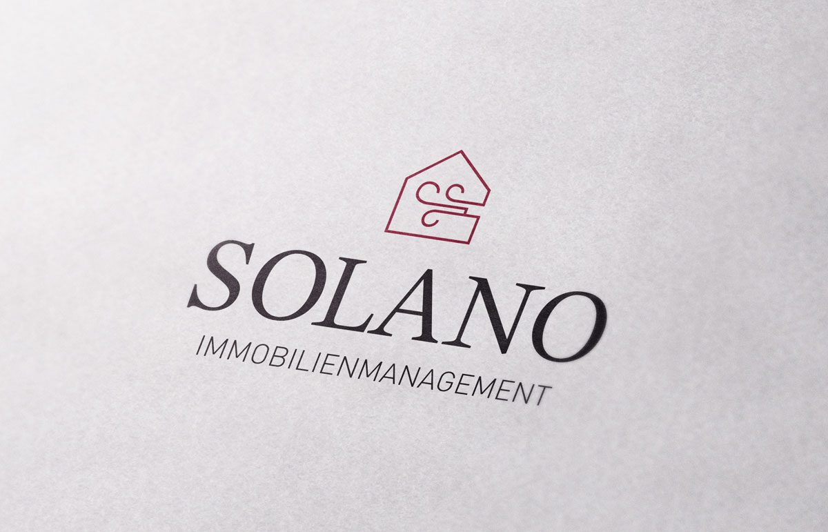 Corporate Design und Website für SOLANO Immobilien