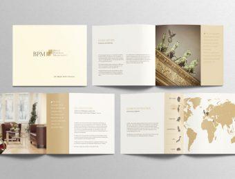 Broschüre für BPM - Berlin Portfolio Management GmbH