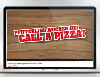 Call a Pizza Spot Pfifferlings Wochen
