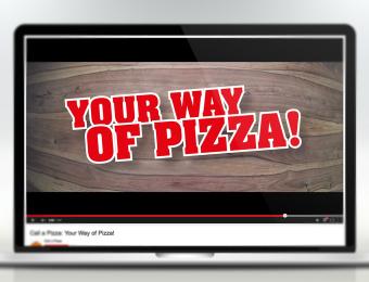 Der neue Call a Pizza Spot