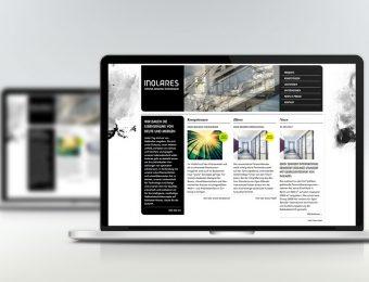 Website für Inolares GmbH & Co. KG