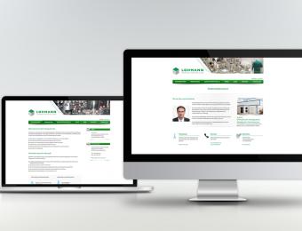 Website für Lohmann Pharma Herstellung GmbH