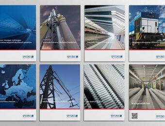 Unternehmens-Broschüren für die SPITZKE SE