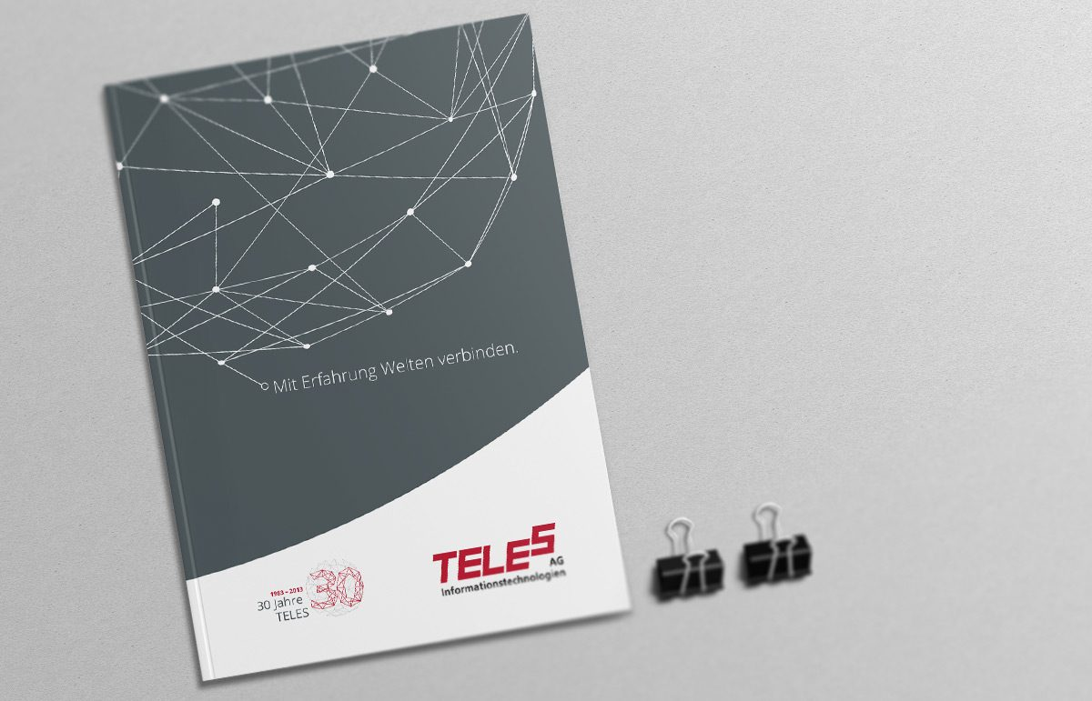 Broschüre der TELES AG Informationstechnologien