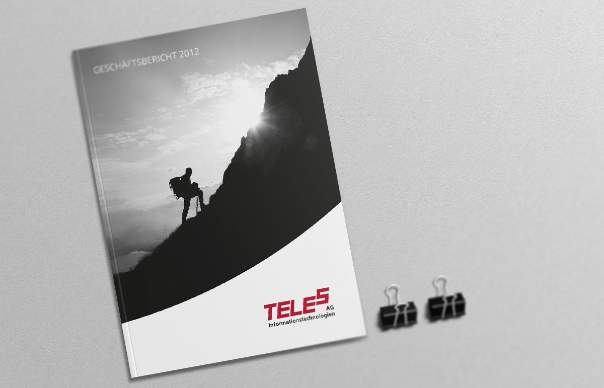 Gestaltung des Geschäftsberichts der TELES AG Informationstechnologien