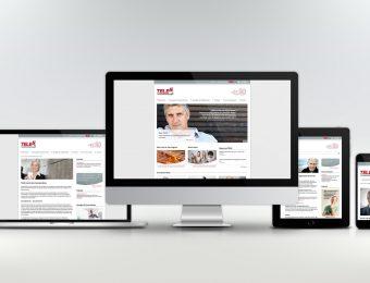 Website für die TELES AG Informationstechnologien