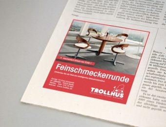 Anzeigenkampagne für das Trollhus