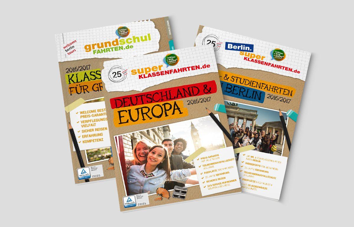 Kataloge für Welcome Berlin Tours