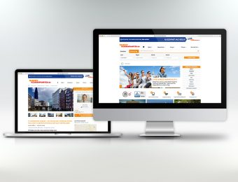 Website Relaunch und Design von Printprodukten für Welcome Berlin Tours