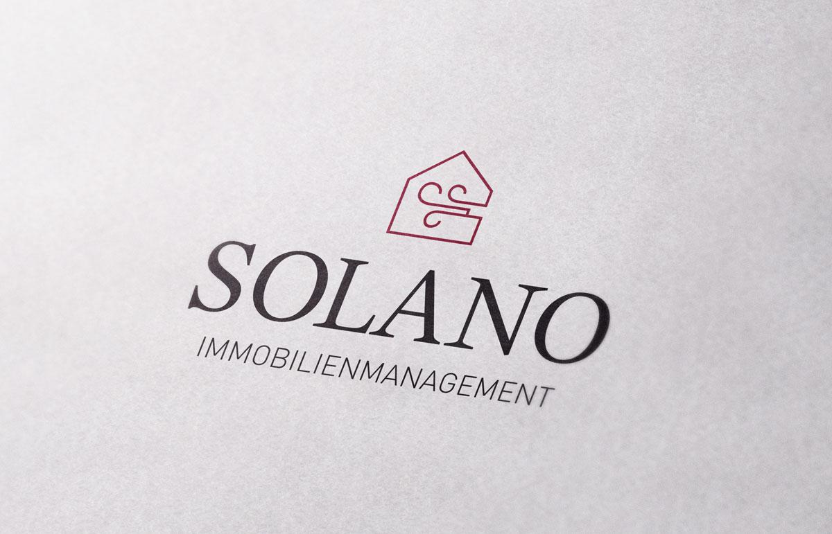 Logo für Solano, PPAM Werbeagentur Berlin Lichterfelde