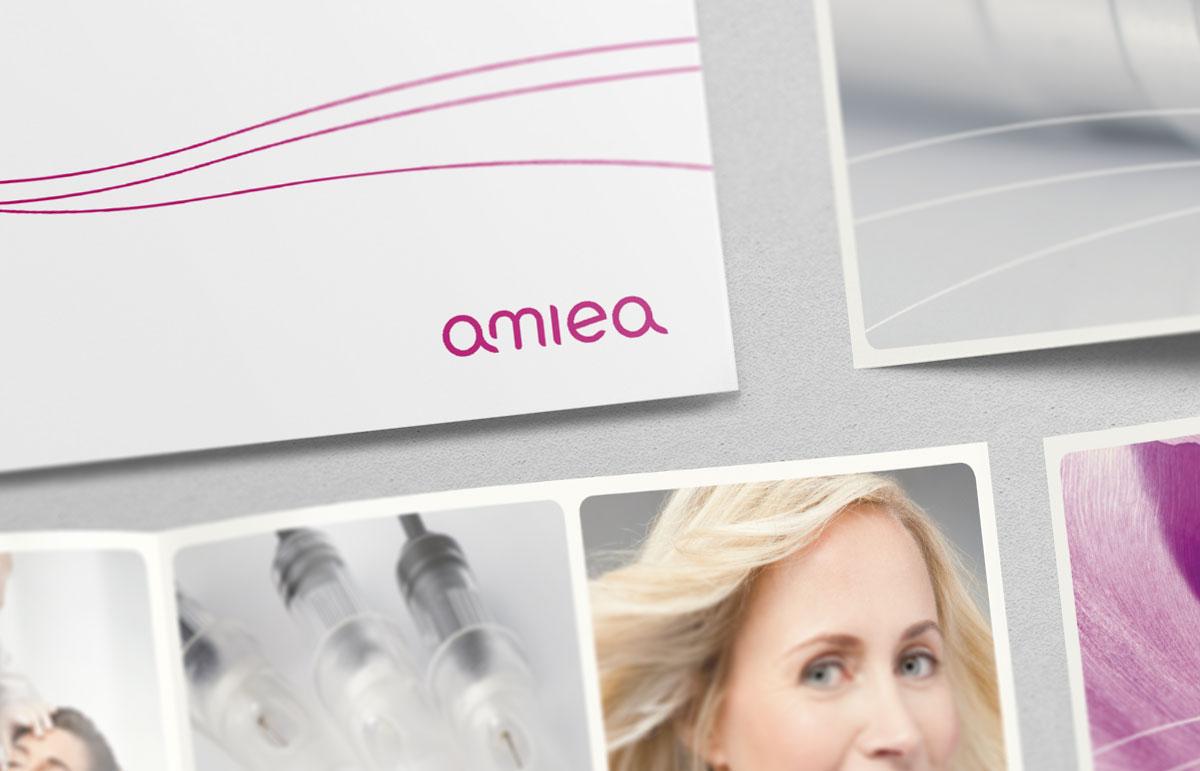 Broschüre für Amiea, PPAM Werbeagentur Berlin Lichterfelde
