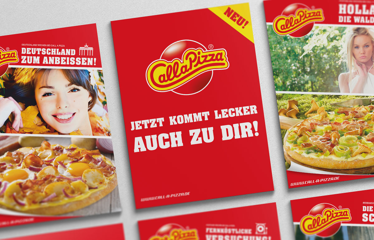 Call a Pizza Aktions-Flyer