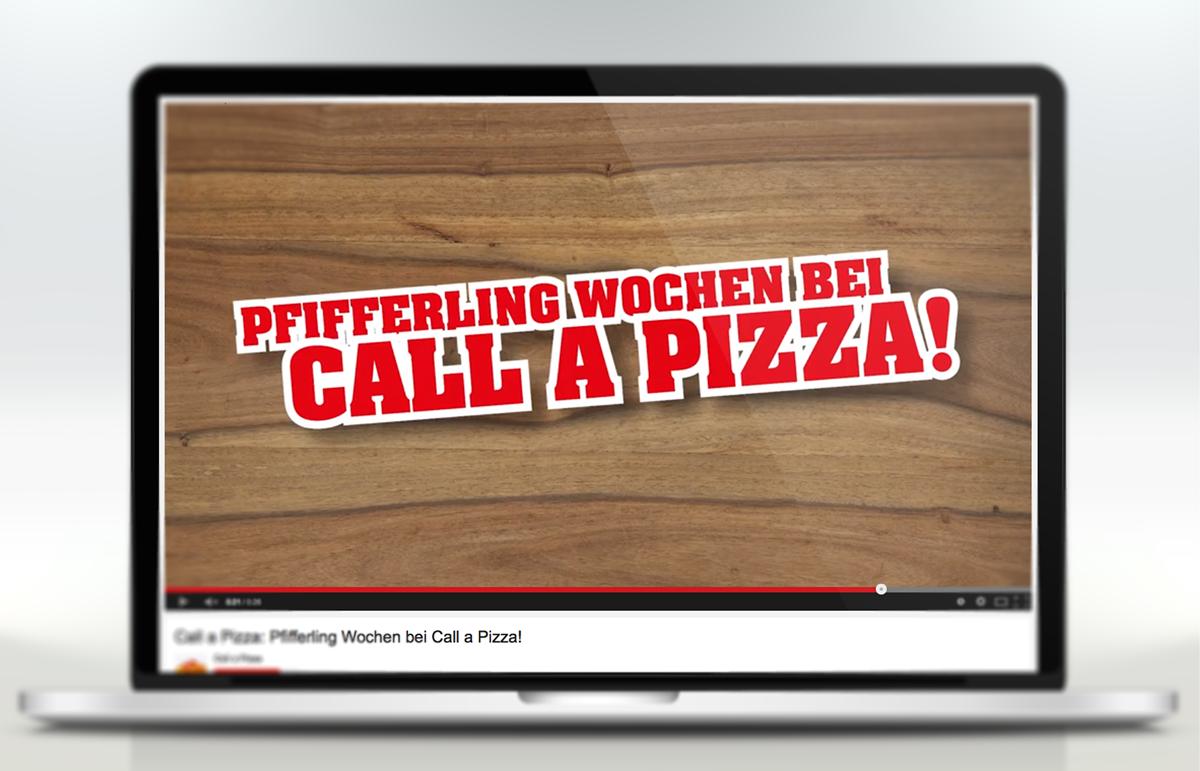 Call a Pizza, Spot Pfifferling Wochen. PPAM Werbeagentur Berlin Lichterfelde