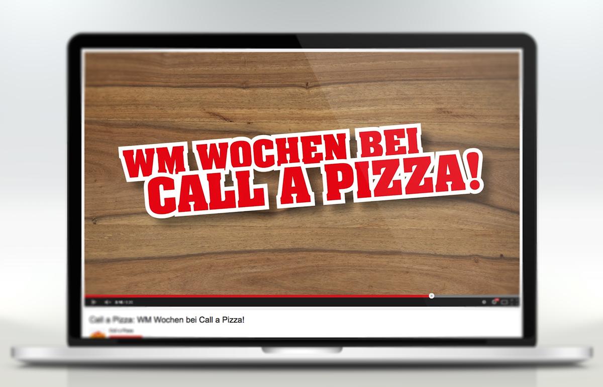 Call a Pizza Spot WM Wochen, PPAM Werbeagentur Berlin Lichterfelde