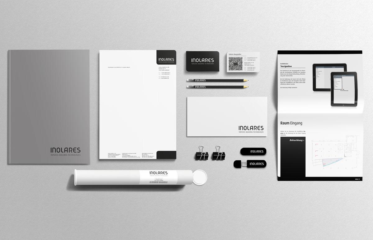 Inolares, Corporate Design