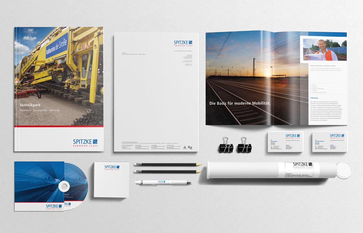 Spitzke, Corporate Design