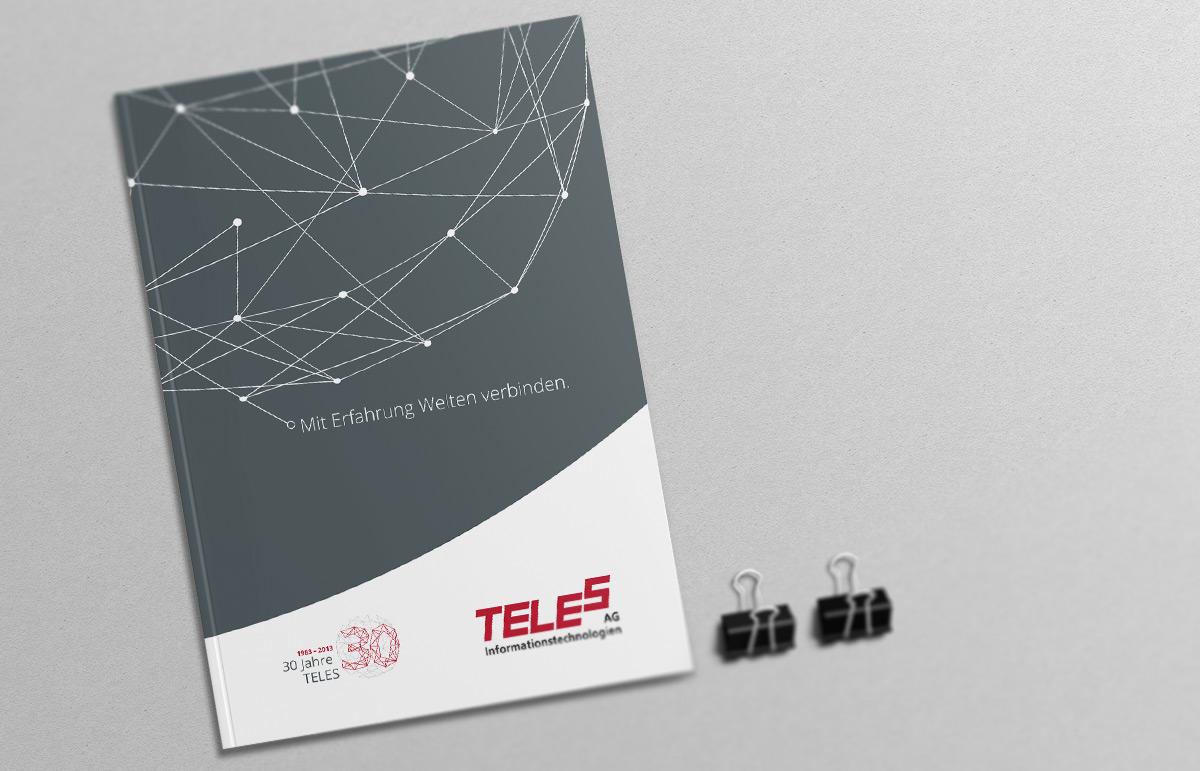 TELES AG Informationstechnologien, Broschüre. PPAM Werbeagentur Berlin Lichterfelde